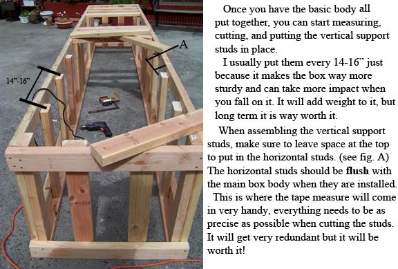 how to build a skate rail