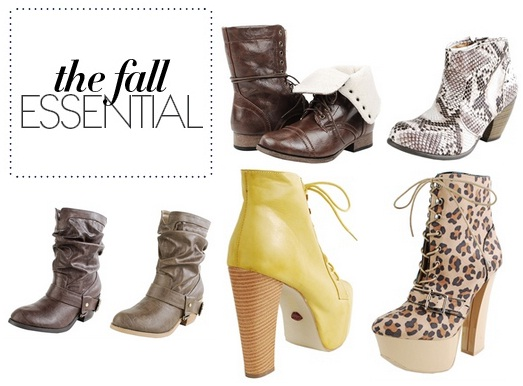 Best Ankle Boots for Fall 2012 Collection