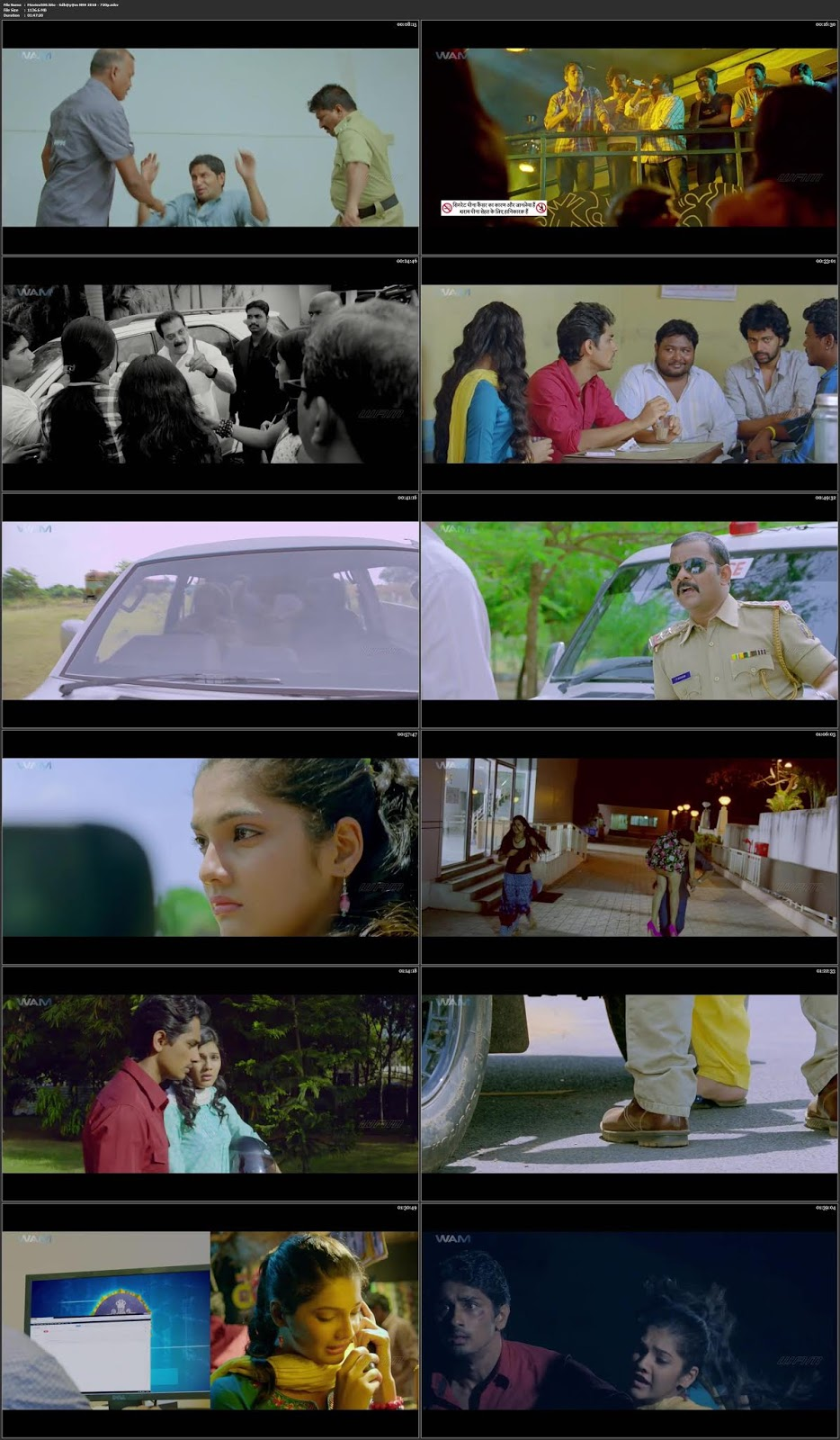 Udhayam NH4 2013 Hindi Dubbed 300MB Movie WEBHD 480p