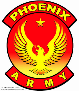 Phoenix Army Logo or Insignia, based on Ender's Game Movie
