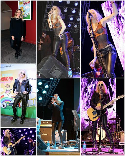 Militta Bora se presentó con su banda en el Festival de musica Ciudad Emergente