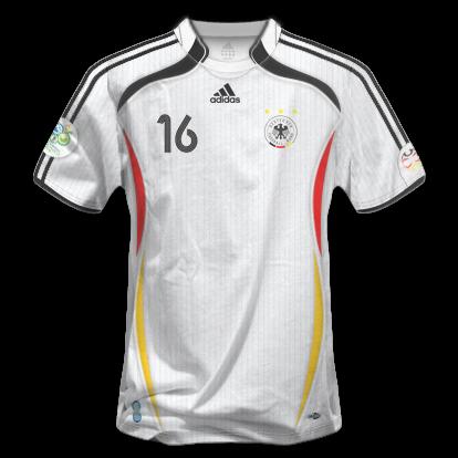 Accesorios en PNG 2012-13: Camisetas Copa Mundial Alemania 2006