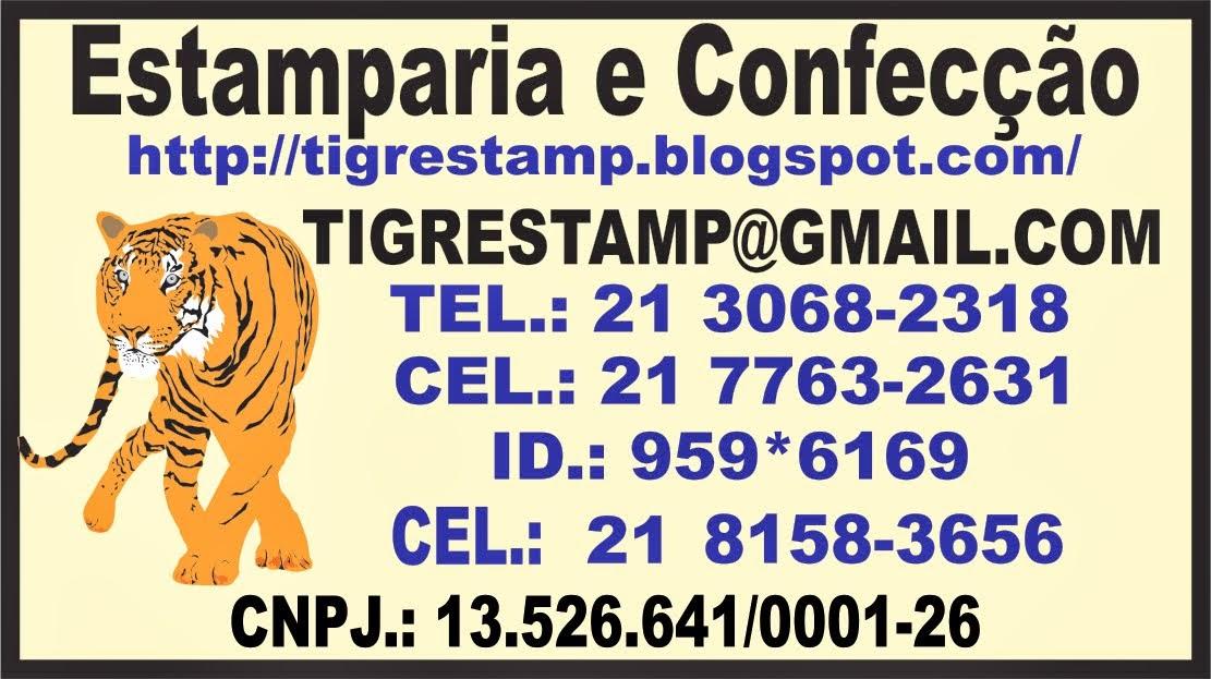 Estamparia e Confecção Tigre Stamp - Camisetas personalizadas, silk e sublimação