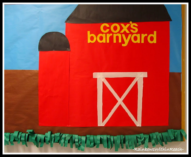 photo of: Barnyard Bulletin Board via RainbowsWithinReach RoundUP