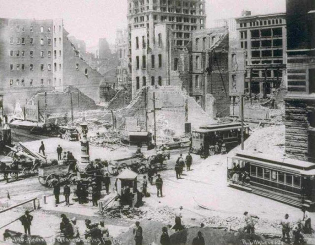 Great San Francisco Fire and Earthquake – April 18, 1906