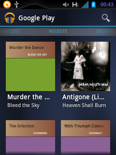 Jelly Bean PlayMusic