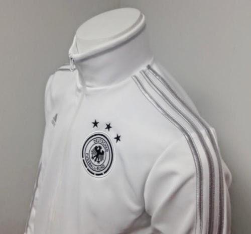 new adidas tracktop jaket german presentation white