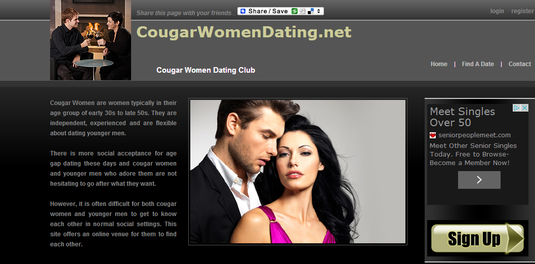 Absolutely free cougar dating site
