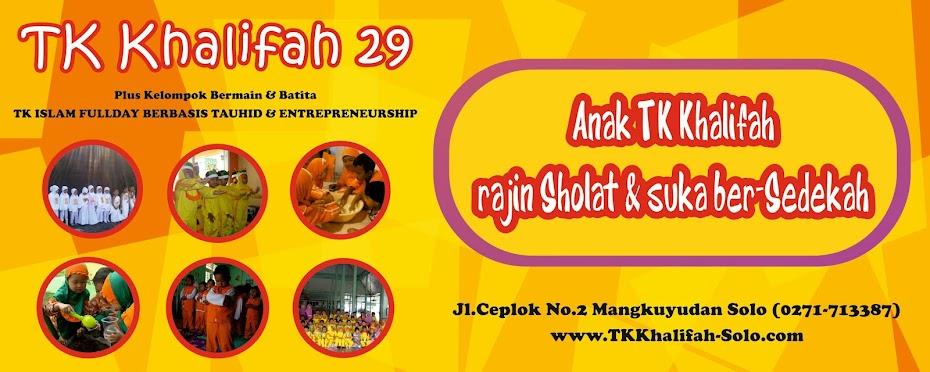 TK Khalifah Solo , TK Islam Fullday