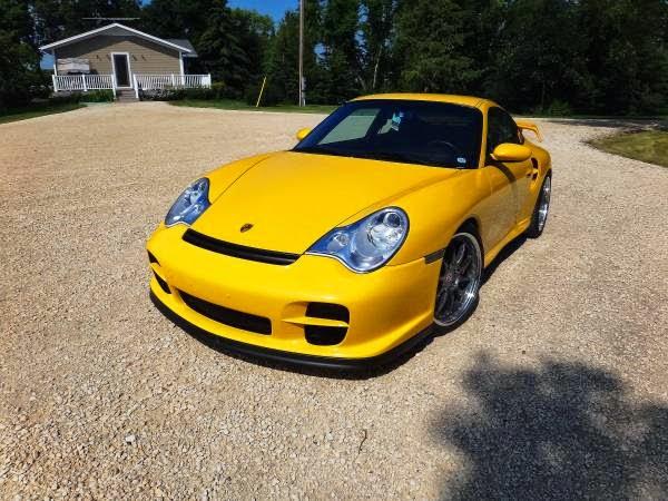 2001 Porsche 911 Turbo Speed Yellow | Auto Restorationice