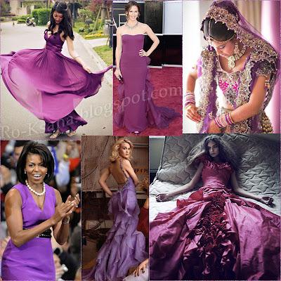 Мода модная одежда палитра Сияющая Орхидея Radiant Orchid цвет года 2014 модные украшения дизайн подарки женщине подарок девушке