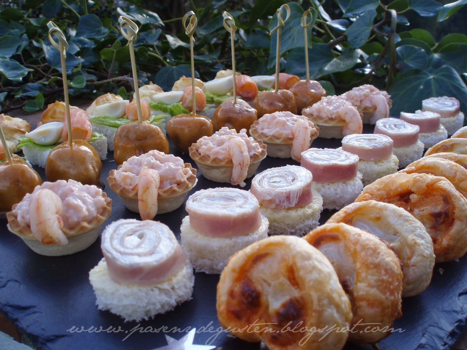 Pasen y degusten navidad recopilatorio platos salados - Como hacer un canape ...