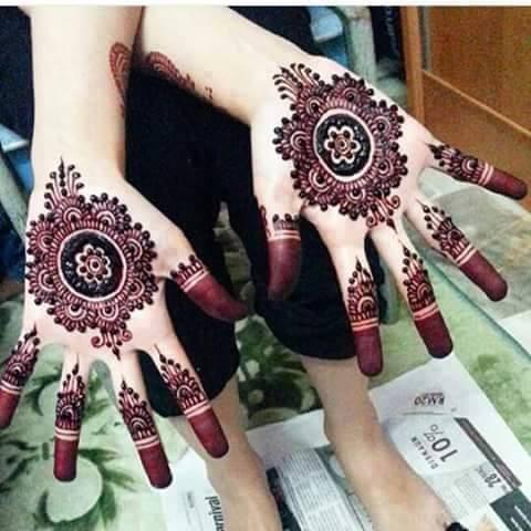 Front Hand Beautiful Tiki Mehndi Designs 2016 Mehndi Designs For