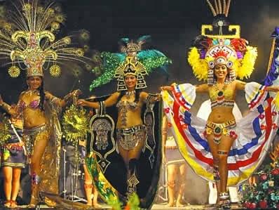 Programa completo de fiestas de la provincia de Napo 2014