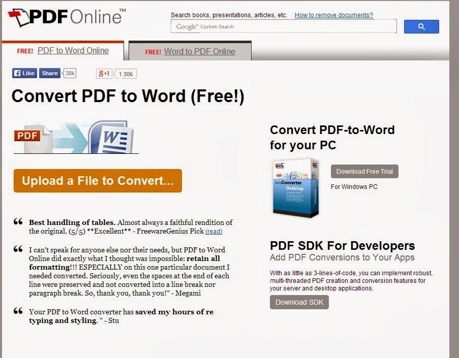 Infos technos informatique vid os hifi photos - Convertir un fichier pdf en open office writer ...