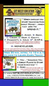 Family's TEACH KID's to be MONEYCLEVER !!