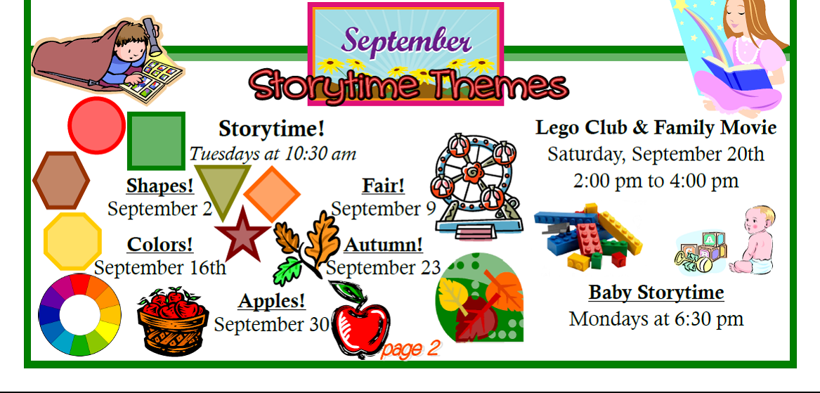 September Monthly Calendar Events, Theme Units, Lessons, Links ...