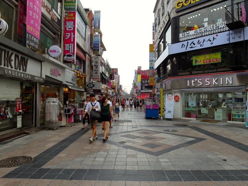 Ewha Summer Studies Sungshin Women University Capicapiloomloom Rilakkuma Cafe Seoul South Korea lunarrive travel blog