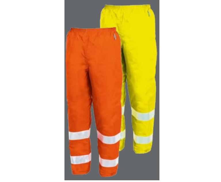 Imagen: Pantalones Alta Visibilidad Impermeables disponibles en Amarillo o Naranja (Fluo)