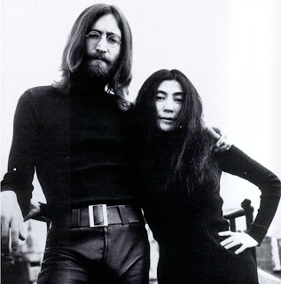 Black was the colour of choice for John and Yoko