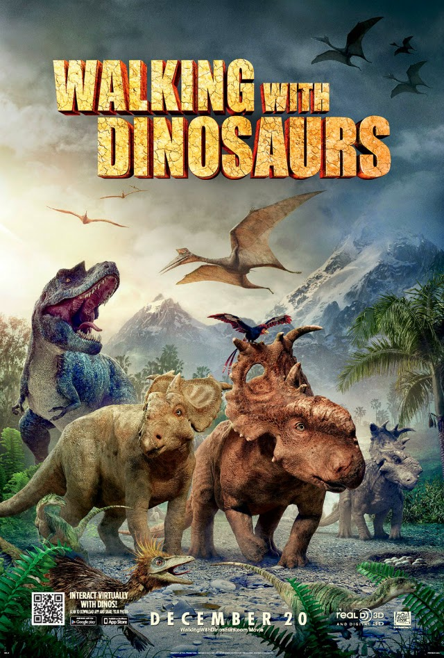 La película Walking With Dinosaurs 3D ( Caminando entre dinosaurios )