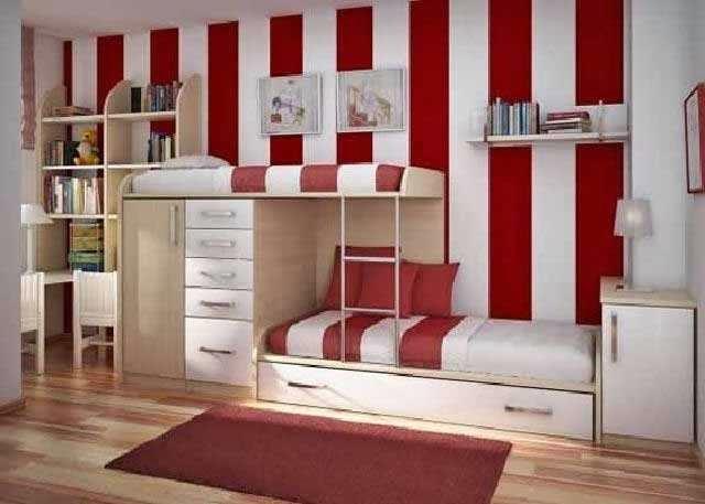 Dekorasi Kamar Anak Laki-kali Merah Putih