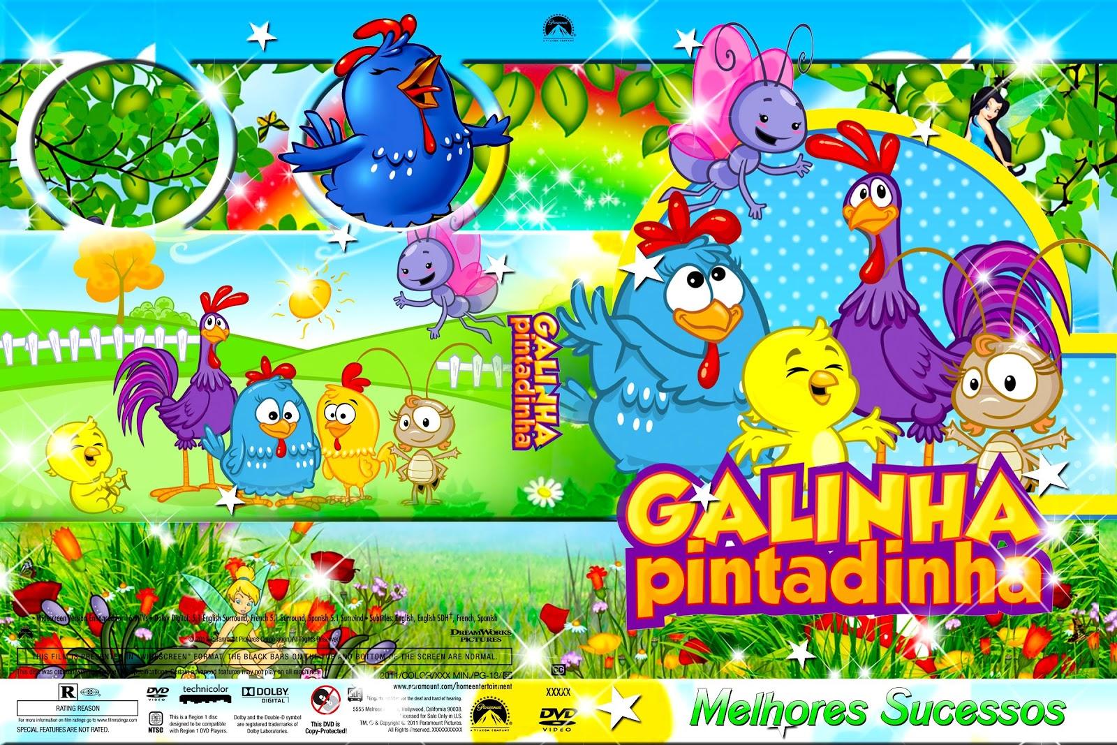 Capas filmes infantil galinha pintadinha 1