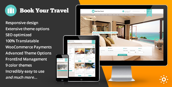 Book Your Travel v5.3 - Online Booking WordPress Theme