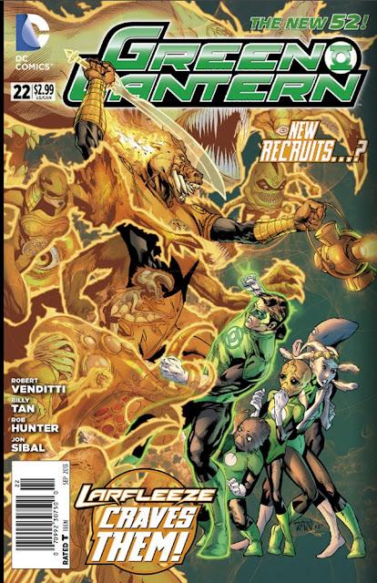 Green Lantern #22 (New 52)