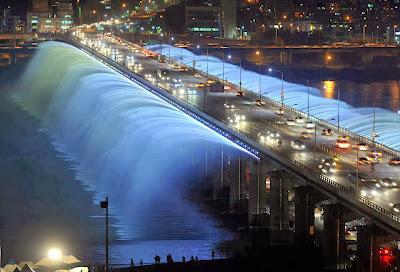 El Puente Banpo (Corea del Sur)