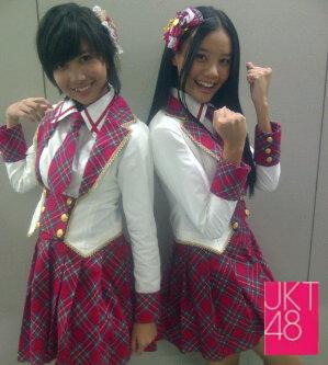 Ghaida JKT48 anda Cleo JKT48