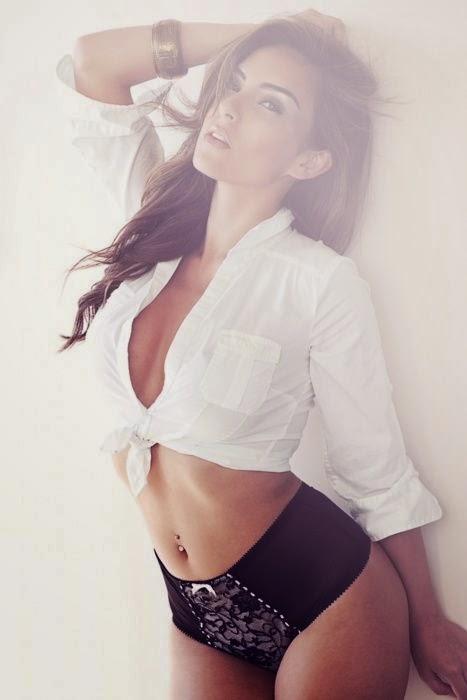 very hot model