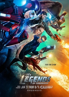 Lendas do Amanhã - Legends of Tomorrow 1ª Temporada Séries Torrent Download capa