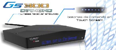Atualizacao do receptor Globalsat GS300 Diamond V3.13