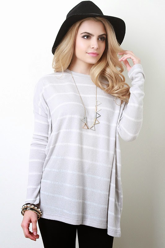 http://www.urbanog.com/Soft-Knit-Striped-Sweater-Top_101_53103.html