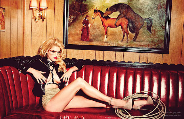 Ashley Smith by Ellen von Unwerth for Galore Magazine #1