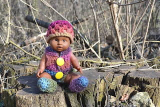 easy doll outfit crochet pattern