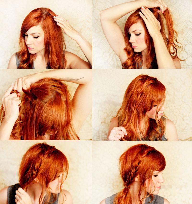 Sophie news tutorial de peinado con trenzas 4 - Tutorial de peinados ...