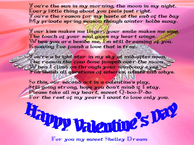valentines day poems for teachers. valentines day poems for