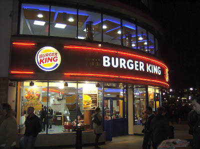 burger king selling horse meats