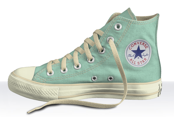 Peppermint Chuck Taylors, Converse, Design Your Own Chucks