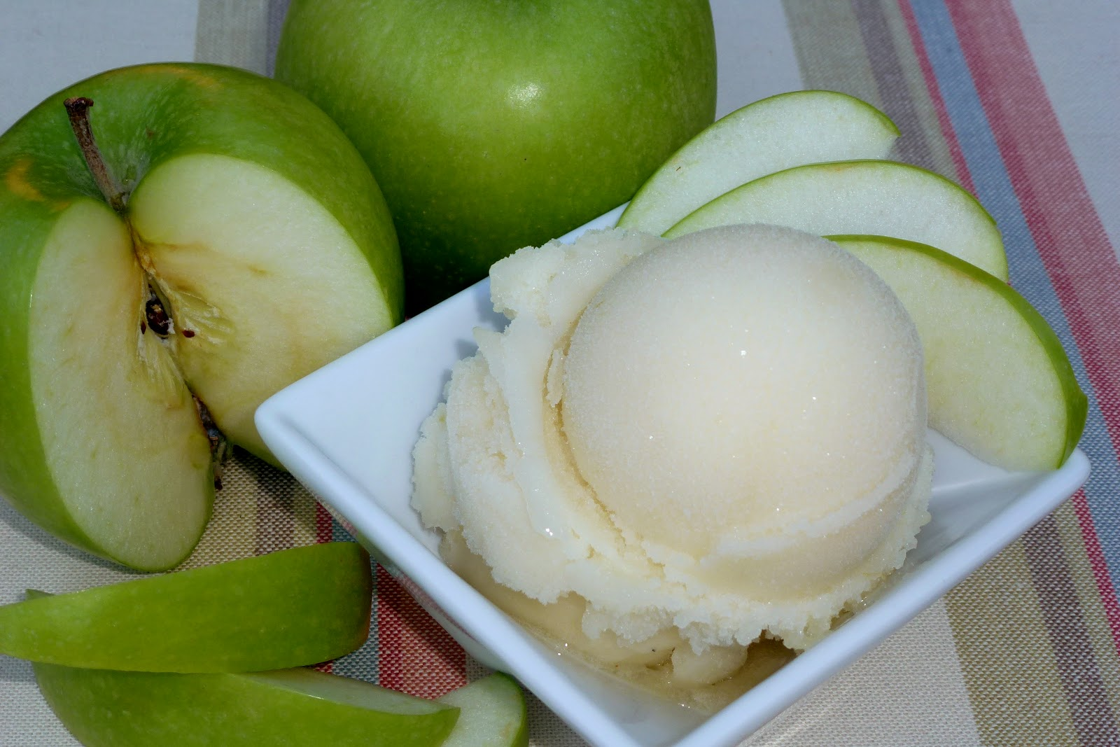 Savory Table: Green Apple Sauvignon Blanc Sorbet