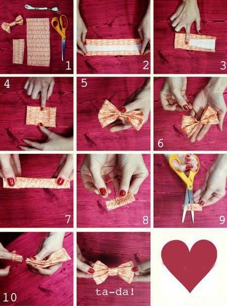 Steps To Make a Bow Tie