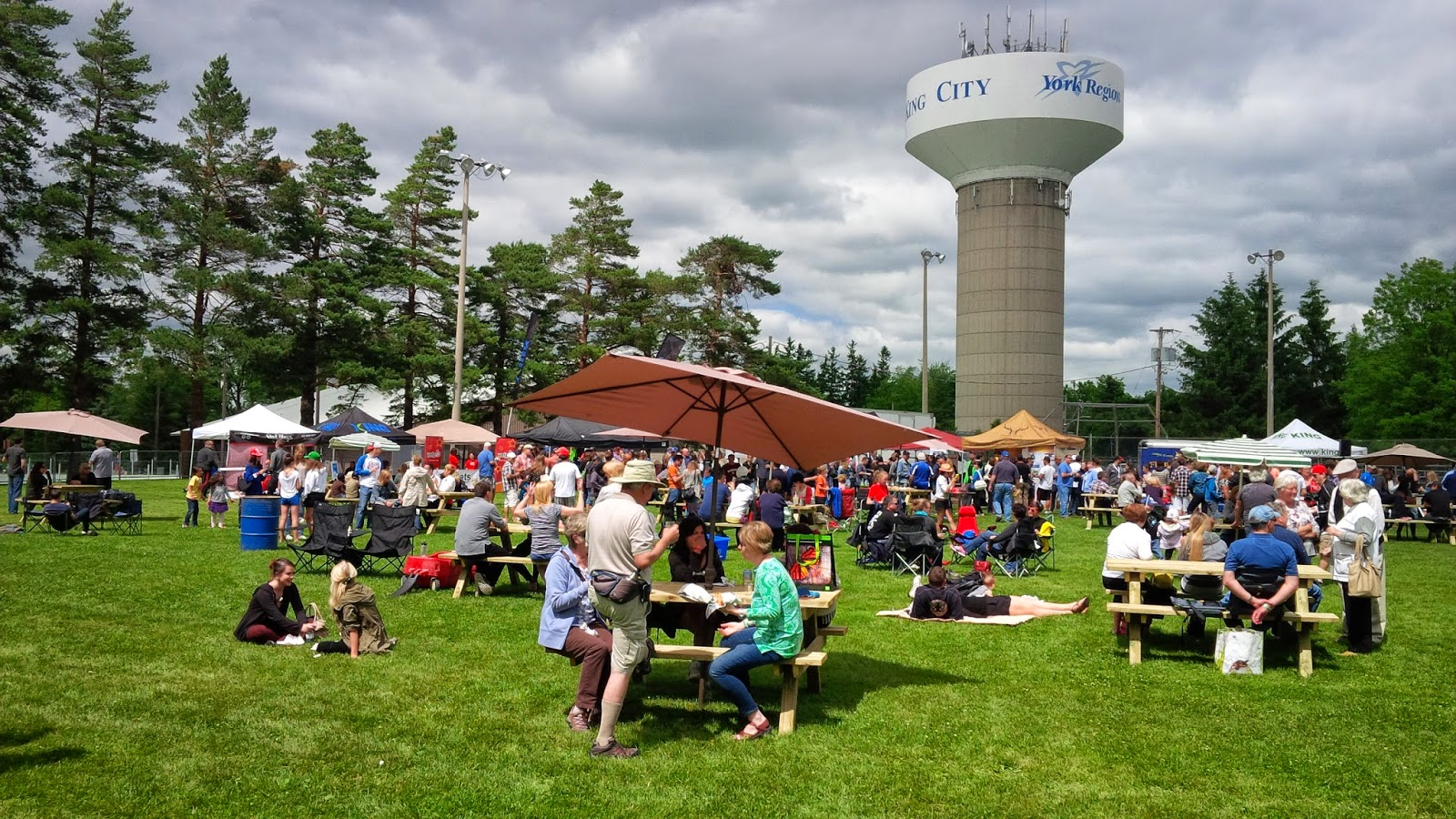 King city craft beer and food truck festival recap real for Food truck and craft beer festival