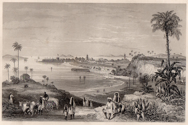 View of Bombay, Showing the Fort