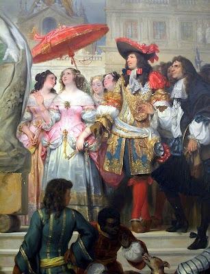 Cuenta la Historia con imágenes Louis-XIV-et-sa-cour
