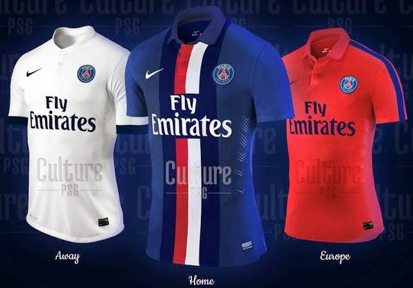 camisetas de futbol Paris Saint Germain baratas