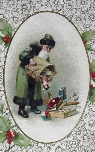 Bumble Button More Enchanting Christmas Postcards From