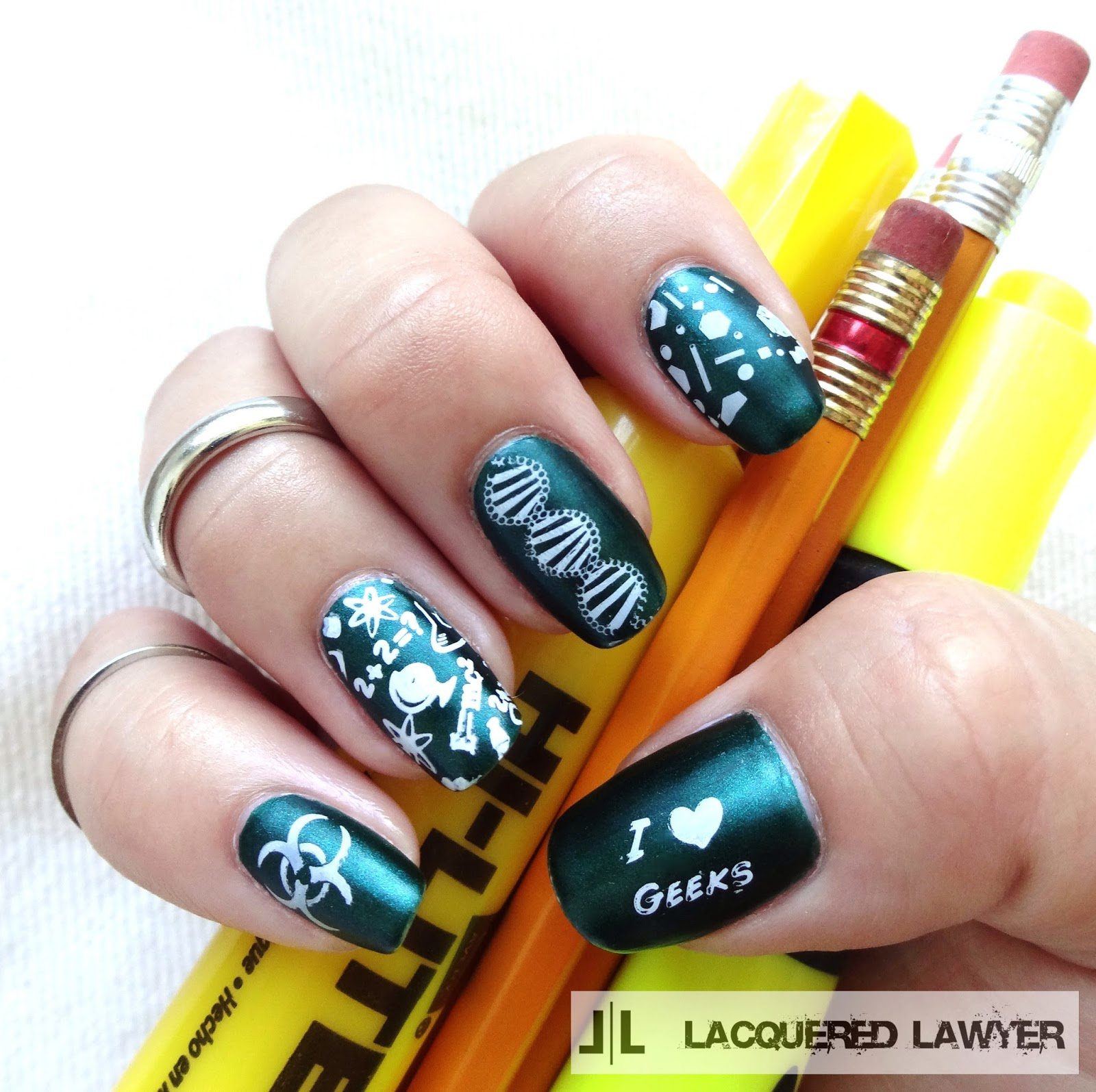 Science Nail Art
