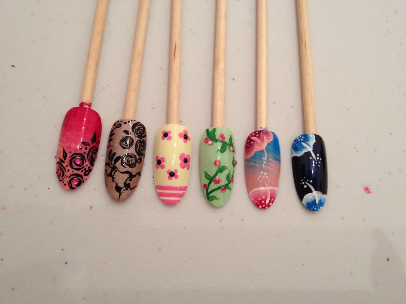 Ateliers nail art Décembre et Janvier25